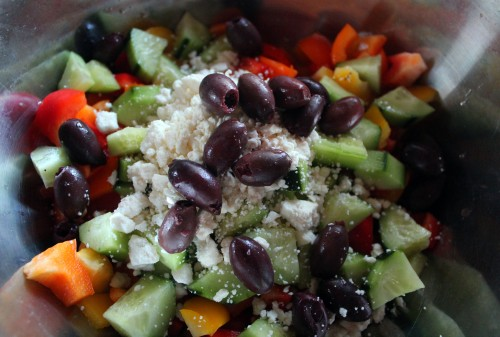 mediterranean pepper salad 2