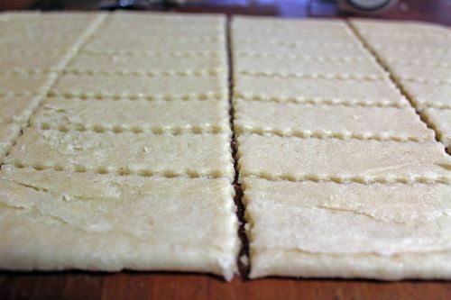 vanilla sugar cookie dough strips