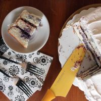 Lemon Blueberry Butter Cake