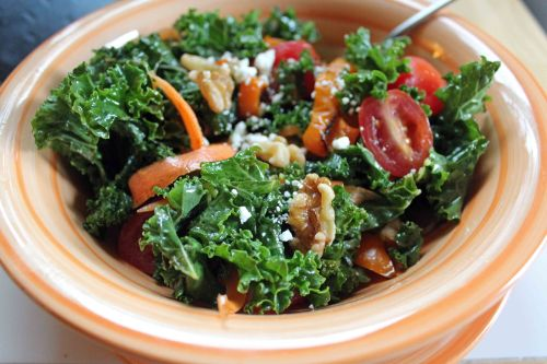 kale walnut salad 2