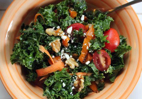 kale walnut salad 3