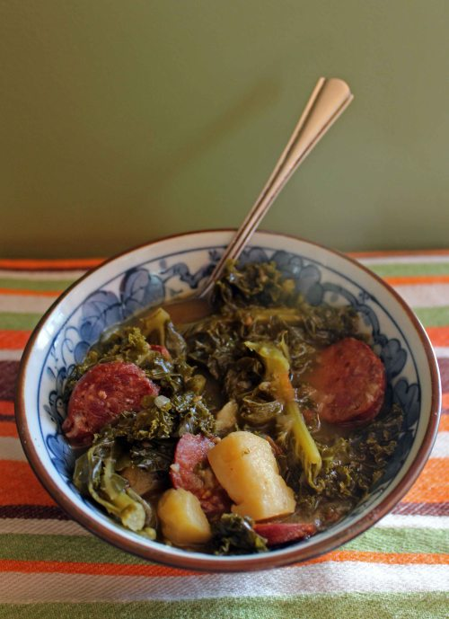 kale soup with chorizo 3